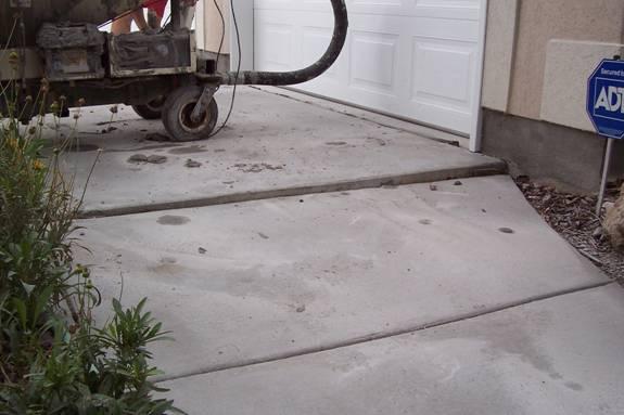 Concrete Slab Lifting : Concrete lifting slab jacking fix foundation